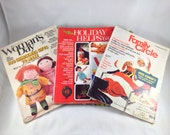 Lot of 3 magazines from Nov./Dec. 1968 - Woman's Day, Family Circle, Holiday Helps by Family Circle