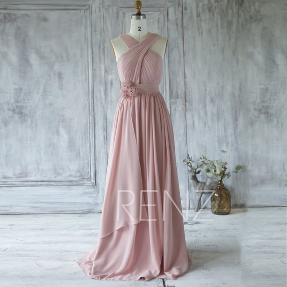 Y Neck Bridesmaid Dresses 103