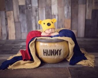 Winnie the Pooh Crochet Hat