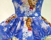 Sisters' Winter Magic, Blue Dress for your American Girl Doll D