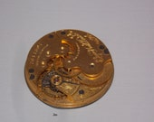 Antique 29mm Gold Pocket Watch Movement