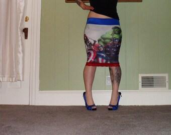 Marvel Comics - Avengers - Pencil Skirt