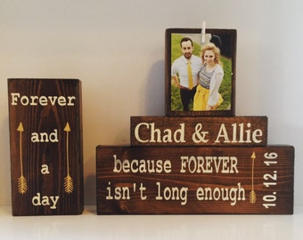 Gift for newlyweds mr & mrs bride and groom gift bride and groom signs personalized frame groom to bride gift wedding gift for bride sign