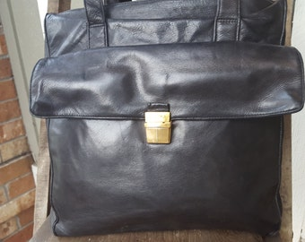LOAD   ///   Large Leather Tote