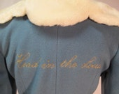 Moschino Cheap and Chic Head in the Clouds Jacket