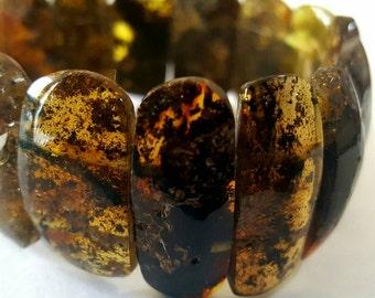 Baltic Amber bracelet, black amber bracelet, natural amber bracelet, gift, black,  янтарный браслет, 琥珀手鍊, 琥珀ブレスレット, ambre, Bernstein, ambar