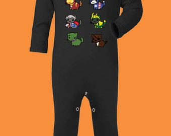 Kitty Avengers Baby Rompa Suit