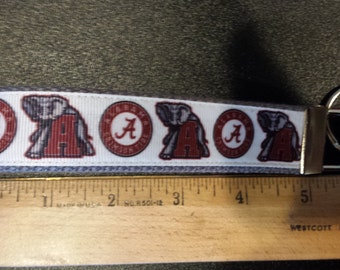 University of Alabama Key Fob, Wristlet, Key Chain