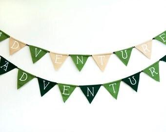 Adventure Flag Banner