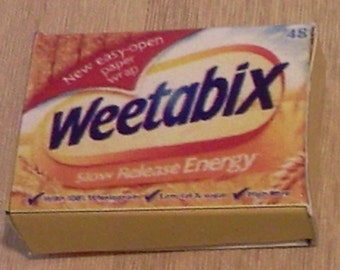 Dolls House Miniature Weetabix