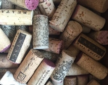 50 Used Corks - 100% Natural Wine Corks - Cork Craft Supply- A Variety Of Corks From Many Vintage Wineries, Item#WC00369