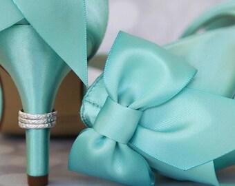 Wedding Shoes, Aqua Wedding Shoes, Blue Wedding Shoes, Something Blue, Something Blue Shoes, Blue Bridal Heels, Wedding Accessories