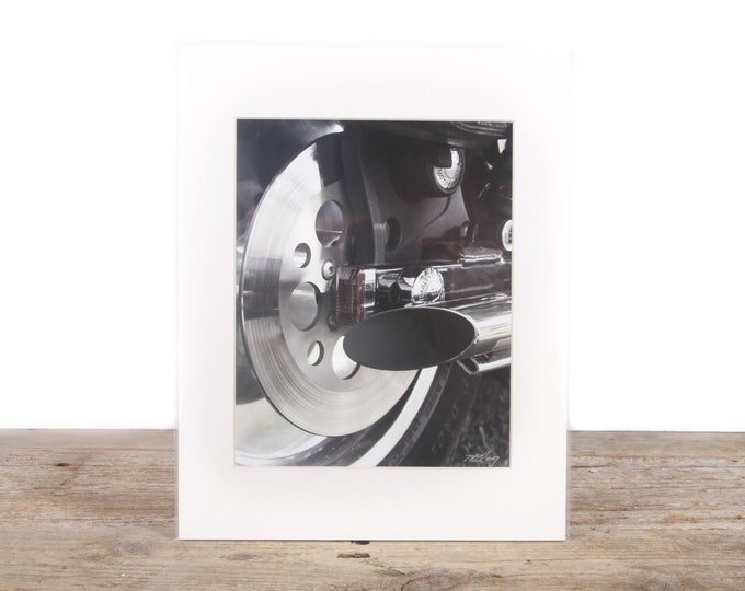 Original Fine Art Photography / Motorcycle Photography / Bike Gift / Signed Photography / Photography Prints / Color Photography / Matted