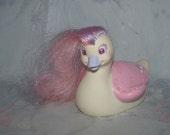 Vintage Tonka Keypers Keyper Baby Swan - Belle Series 2 - Long Striped Hair, Sparkly Eyes