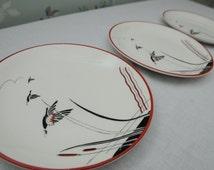 Three Crown Devon Side Plates