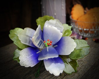 Flower made of crystals stones – Home decor
