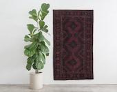 AKRAM 4x6 Hand Knotted Afghani Wool Rug