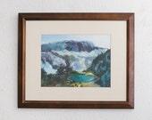 Original Abstract Watercolor Landscape