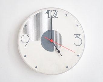 Mod Art Deco Wall Clock