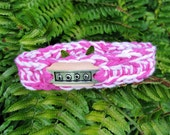 "8"" Little DOG or CAT Soft Collar  - Pinks"