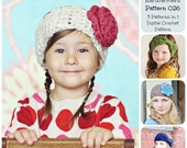 50% OFF SALE Crochet Pattern, Basic Earwarmers Pattern 026, Crochet Headband Pattern, Ear Warmer Pattern