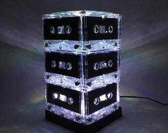 Mixtape Light White Party Light Cassette Tape Lamp