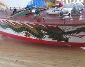 Dragon Dual Prop Wooden Boat Fleet Line collectible