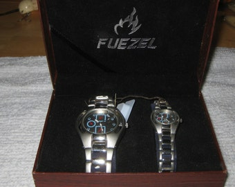 Fuezel His and Her Watches With New Batteries ON SALE