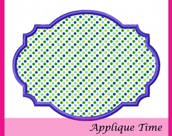 Instant Download Frame 23 Machine Embroidery Applique Design 4x4, 5x7 and 6x10
