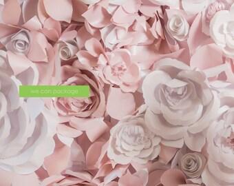 Flower Wall - Floral Wedding Backdrops - Rose - Magnolia - Dahlia Flowers