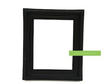 """Black Photo Frame Vintage Shabby Chic 8"""" x 10"""""""