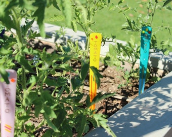 Tomato GARDEN ART STAKES Add Artistic Color and Flair to your Garden!
