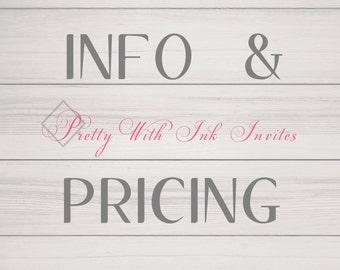 PRICING - PRICING - PRICING