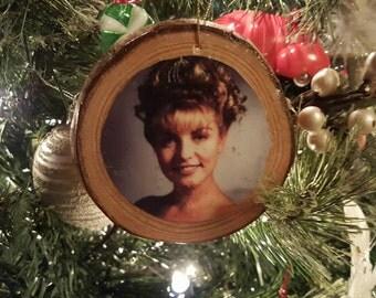 Twin Peaks Laura Palmer Log Christmas Ornament Fan Art
