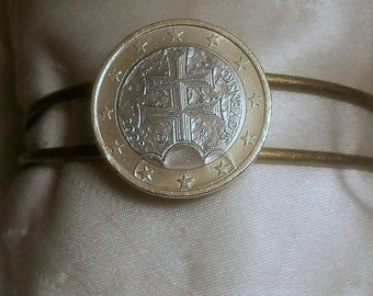 Slovakia Euro Coin Bracelet 2009