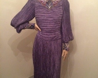Mary McFadden Fortuny Pleated Dress