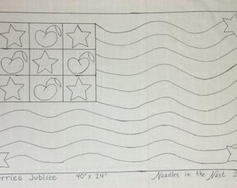 Cherries Jubliee Rug Hooking Pattern