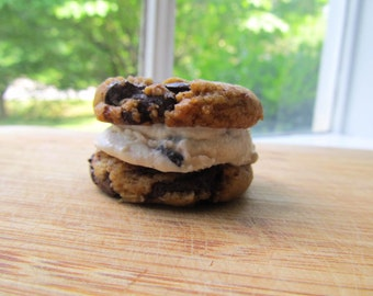 Vegan Chocolate Chunk Cookies