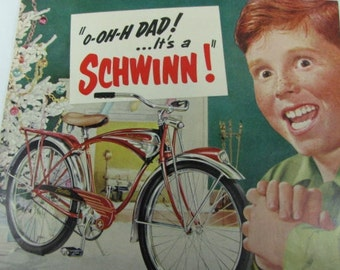 1951Time magazine Schwinn Bicycle ad