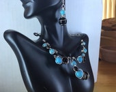 Baubles in Turquoise & Onyx