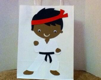 Cute Karate Party Goody Bag