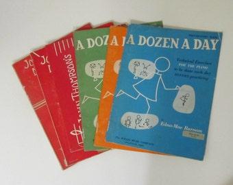 Vintage Children's Piano Instruction Books