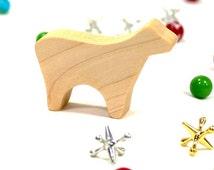 Wooden Lamb Toy, Sheep, Farm Animal, Handmade Wood Toy, Easter lamb toy, wood animal toy, toy farm animal, kids toys, kid wooden toy