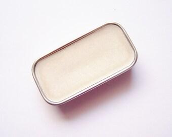 Sheer Glitter Mineral Lip Color - Lipstick In A Tin - Zero Waste Makeup - Vegan Mineral Makeup -  Cruelty Free Cosmetics