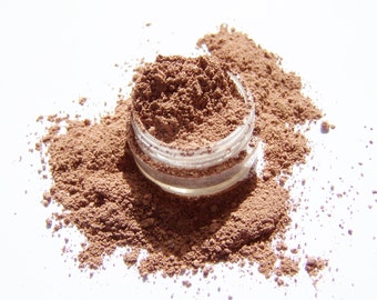 Mineral Makeup - Light Auburn Brow Color - Brow Color Powder - Vegan Makeup - Brow Filler - Brows
