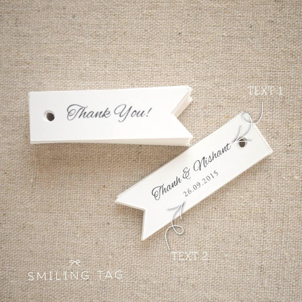 Wedding Favor Tags Uk : Thank You Gift Tags Wedding Favor Tags Custom Gift Tags