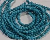 Turquoise Full Strand Beads 4.5mm Natural Gemstone Beads Jewelry Making Supplies