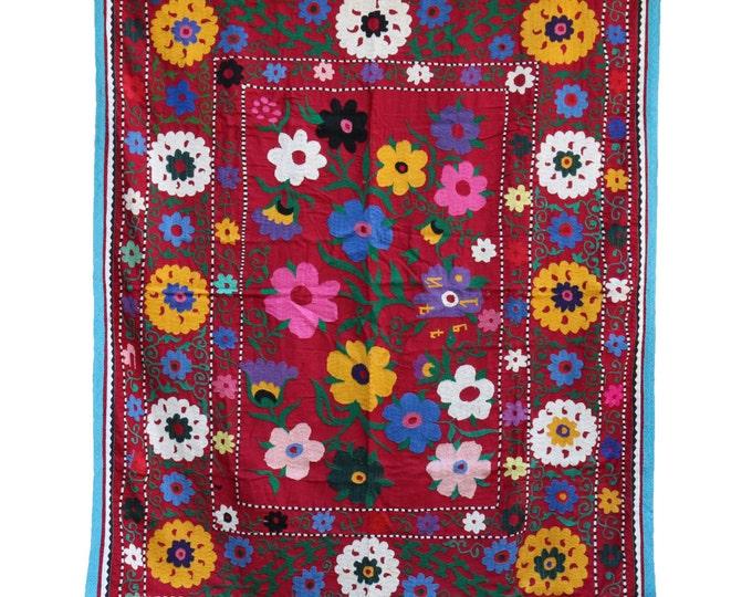 Handmade Vintage Suzani NL3044