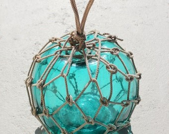 "Nautical Fishing Float Emerald 9.5"" by SEASTYLE"