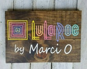LuLaRoe Custom Name Sign